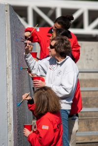 Corps members and volunteers at City Year Boston Opening Day.
