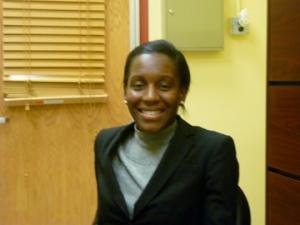 Harbor Pilot Middle School Principal Leah Blake